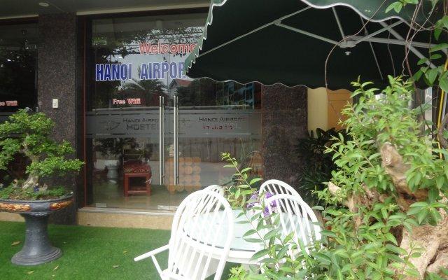 Hanoi Airport Hostel вид на фасад