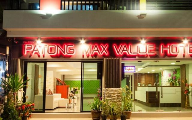 Patong Max Value Hotel вид на фасад