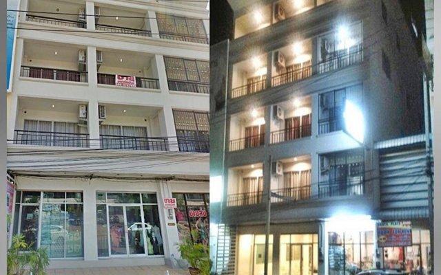 Отель Santa Place Таиланд, Паттайя - отзывы, цены и фото номеров - забронировать отель Santa Place онлайн вид на фасад