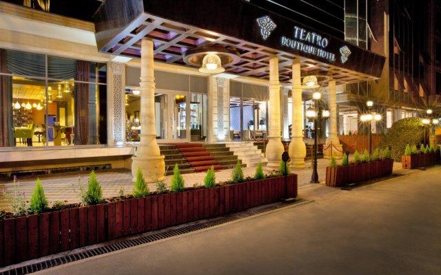 Отель Бутик-Отель Театро Азербайджан, Баку - 5 отзывов об отеле, цены и фото номеров - забронировать отель Бутик-Отель Театро онлайн вид на фасад