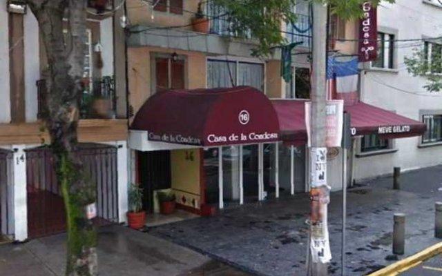 Отель Casa de la Condesa by Extended Stay Mexico вид на фасад