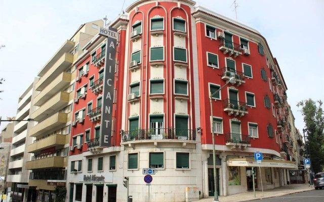 Отель Alicante Португалия, Лиссабон - отзывы, цены и фото номеров - забронировать отель Alicante онлайн вид на фасад