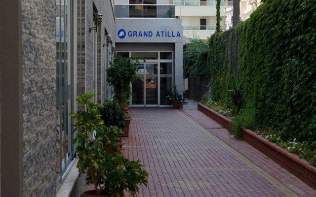 Grand Atilla Hotel Турция, Аланья - 14 отзывов об отеле, цены и фото номеров - забронировать отель Grand Atilla Hotel онлайн вид на фасад