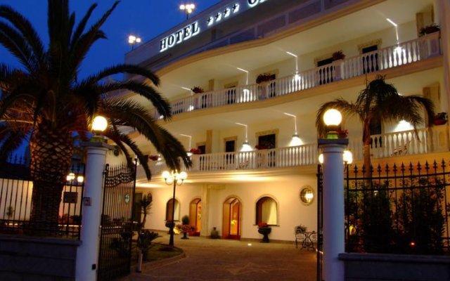 Отель Capys Капуя вид на фасад