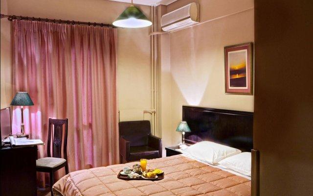 Nicola Hotel комната для гостей