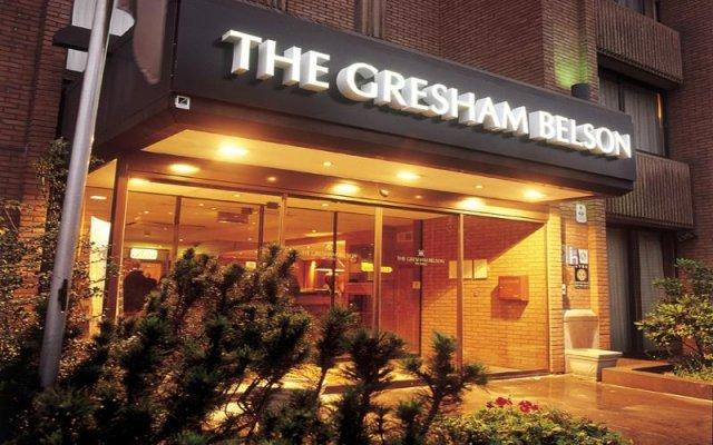Отель Gresham Belson Брюссель вид на фасад
