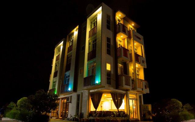 Отель Express Inn Мальдивы, Мале - отзывы, цены и фото номеров - забронировать отель Express Inn онлайн вид на фасад