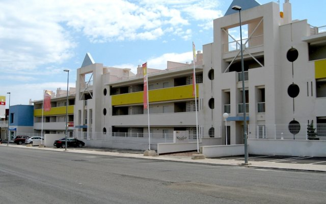 Отель Novogolf Apartments - Marholidays Испания, Ориуэла - отзывы, цены и фото номеров - забронировать отель Novogolf Apartments - Marholidays онлайн вид на фасад