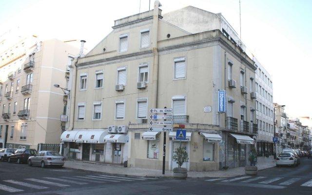 Отель Estrela dos Anjos вид на фасад