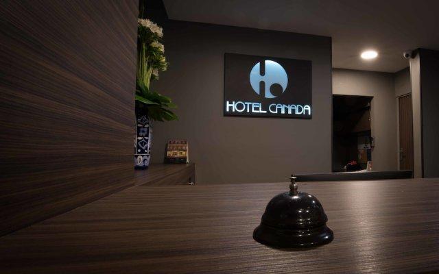 Отель Canada Мексика, Мехико - отзывы, цены и фото номеров - забронировать отель Canada онлайн вид на фасад