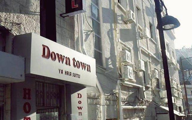 Отель Down Town Yahala Hotel Иордания, Амман - отзывы, цены и фото номеров - забронировать отель Down Town Yahala Hotel онлайн вид на фасад