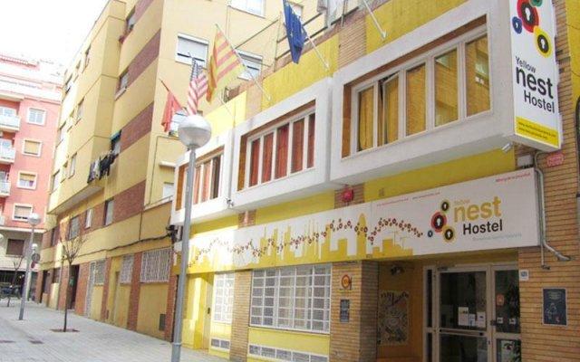 Отель Yellow Nest Hostel Barcelona Испания, Барселона - отзывы, цены и фото номеров - забронировать отель Yellow Nest Hostel Barcelona онлайн вид на фасад