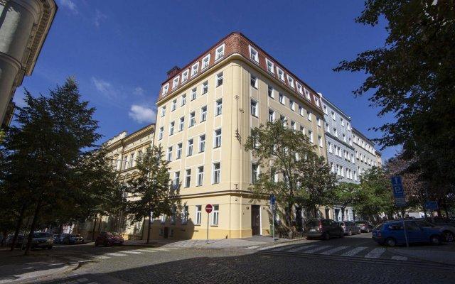 Aparthotel Sibelius in Prague, Czech Republic from 83$, photos, reviews - zenhotels.com hotel front