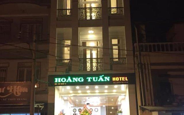 Hoang Tuan Hotel Далат вид на фасад