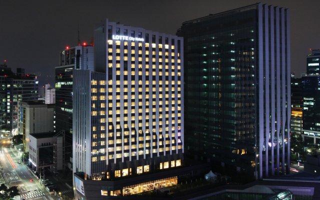 Lotte City Hotel Guro вид на фасад
