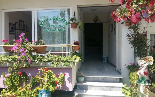 Отель Kumbag Green Garden Pansiyon вид на фасад