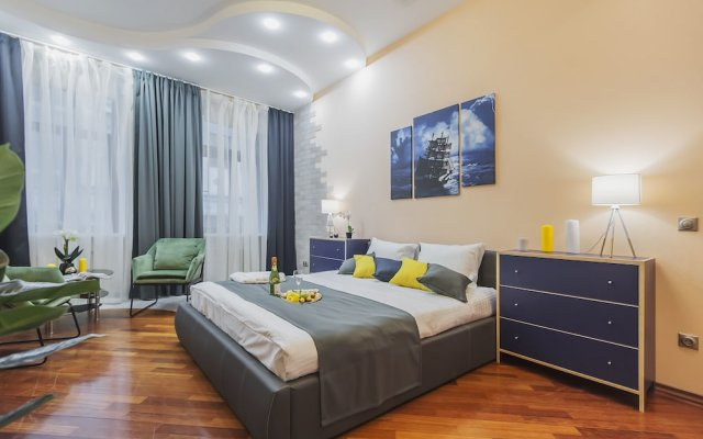 Апартаменты GM Apartments roomy mansion at Arbat вид на фасад