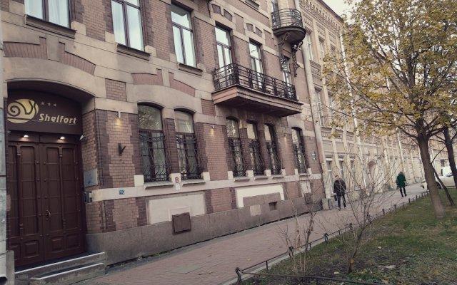 Шелфорт Отель вид на фасад