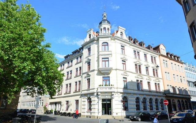 Отель Frühlings-Hotel Германия, Брауншвейг - отзывы, цены и фото номеров - забронировать отель Frühlings-Hotel онлайн вид на фасад