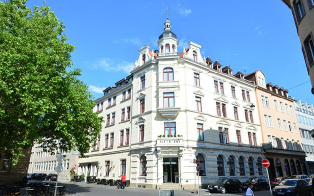 Frühlings-Hotel вид на фасад