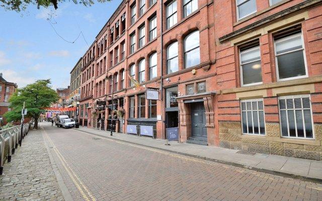 Отель Canal Street Apartments Великобритания, Манчестер - отзывы, цены и фото номеров - забронировать отель Canal Street Apartments онлайн вид на фасад