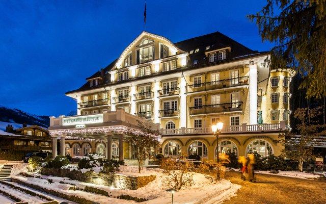 Отель Le Grand Bellevue вид на фасад