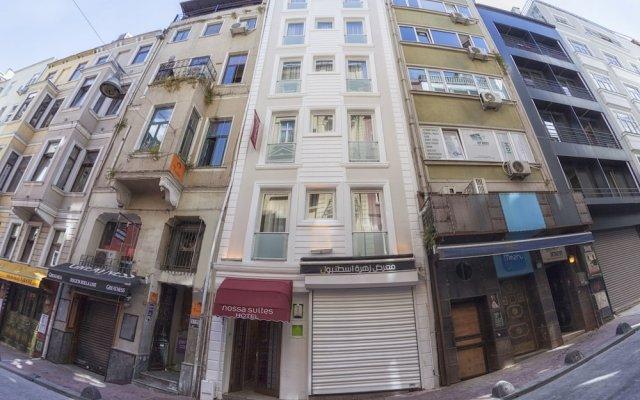 Отель Nossa Suites Taksim вид на фасад