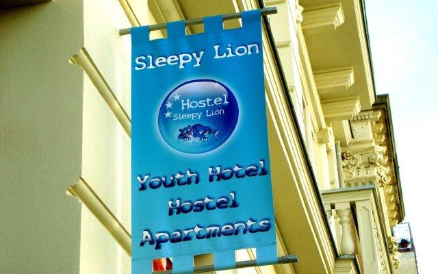 Отель Sleepy Lion Hostel, Youth Hotel & Apartments Leipzig Германия, Лейпциг - отзывы, цены и фото номеров - забронировать отель Sleepy Lion Hostel, Youth Hotel & Apartments Leipzig онлайн вид на фасад