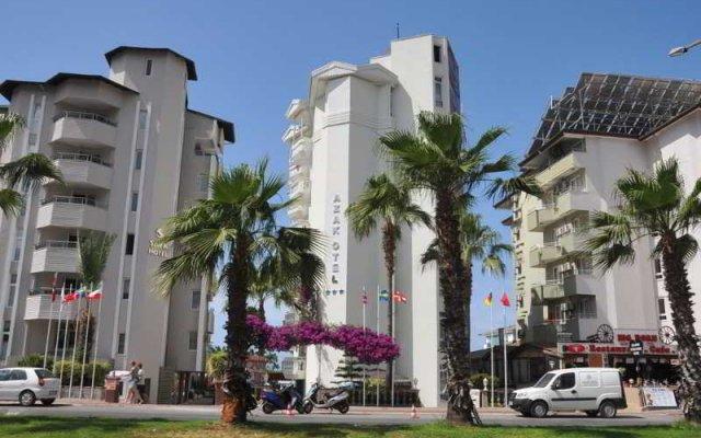 Azak Hotel вид на фасад