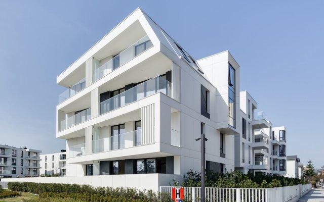 Апартаменты Lion Apartments - Blue Marina вид на фасад