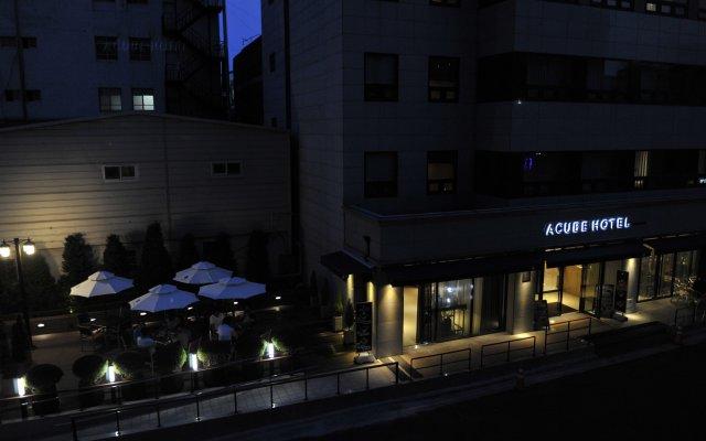 Отель ACUBE Сеул вид на фасад