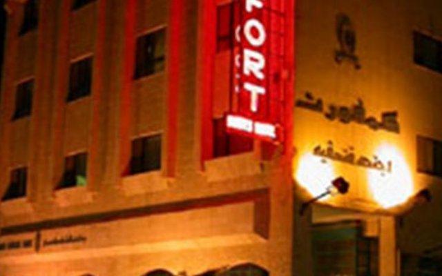 Отель Comfort Hotel Suites Иордания, Амман - отзывы, цены и фото номеров - забронировать отель Comfort Hotel Suites онлайн вид на фасад