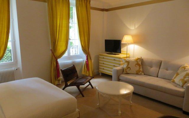 Hotel Villa Escudier Булонь-Бийанкур комната для гостей