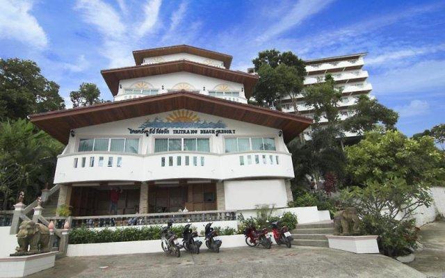 Отель Tri Trang Beach Resort by Diva Management вид на фасад
