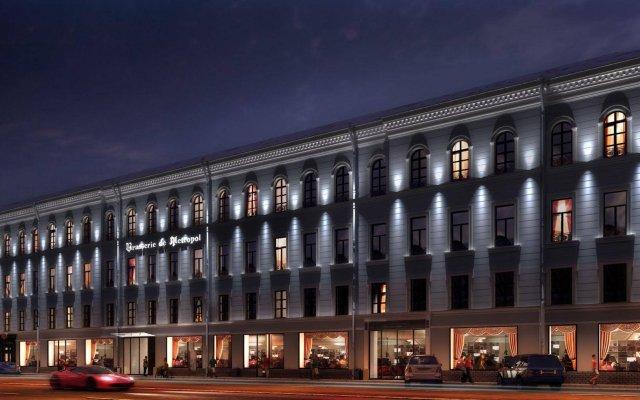 Бутик-отель Majestic Deluxe Санкт-Петербург вид на фасад