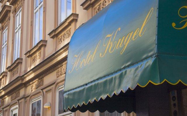 Отель Kugel Австрия, Вена - 5 отзывов об отеле, цены и фото номеров - забронировать отель Kugel онлайн вид на фасад