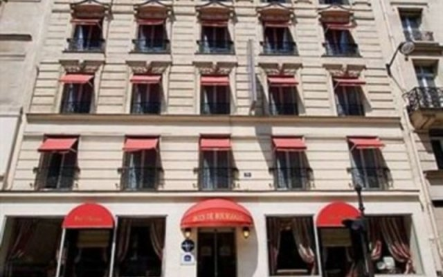 Отель Best Western Premier Ducs De Bourgogne вид на фасад