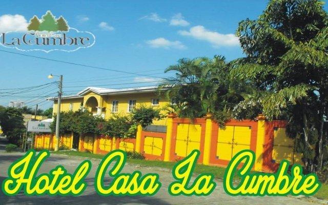 Hotel Casa La Cumbre Сан-Педро-Сула вид на фасад