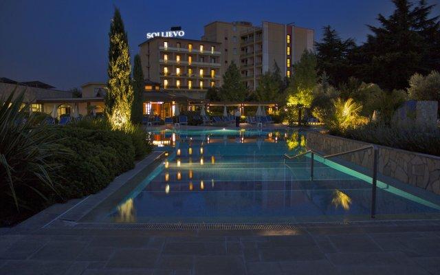 Отель Sollievo Terme Италия, Монтегротто-Терме - отзывы, цены и фото номеров - забронировать отель Sollievo Terme онлайн вид на фасад