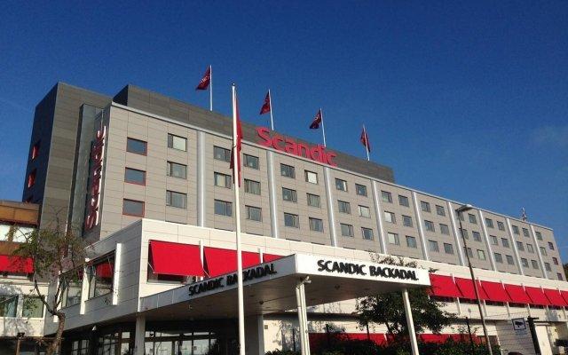 Отель Scandic Backadal вид на фасад