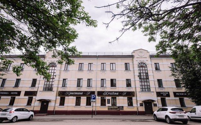 Гостиница Кристина-А вид на фасад