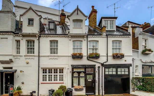 Отель Pont Street Mews Townhouse Великобритания, Лондон - отзывы, цены и фото номеров - забронировать отель Pont Street Mews Townhouse онлайн вид на фасад