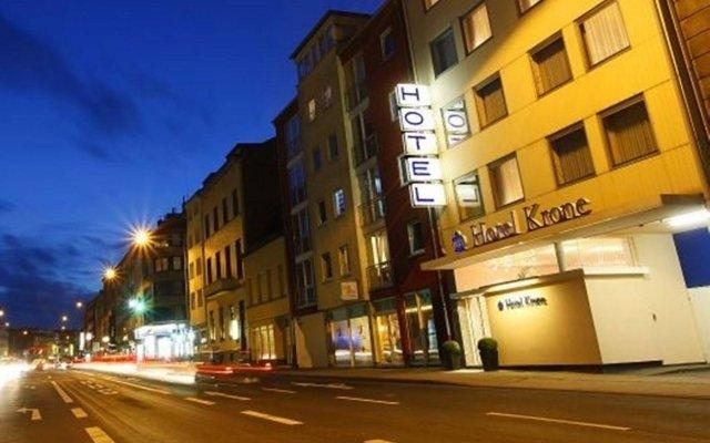 Отель Krone Aachen City-Eurogress Германия, Аахен - отзывы, цены и фото номеров - забронировать отель Krone Aachen City-Eurogress онлайн вид на фасад