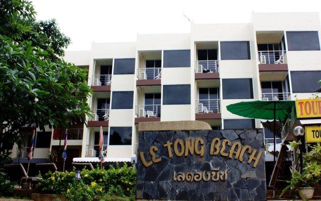 Отель Le Tong Beach вид на фасад