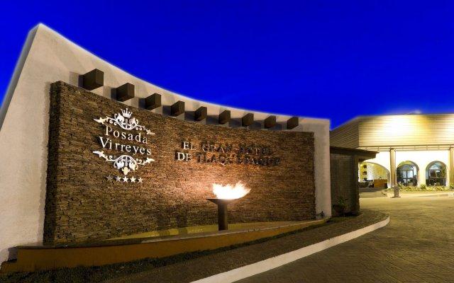 Hotel Posada Virreyes вид на фасад