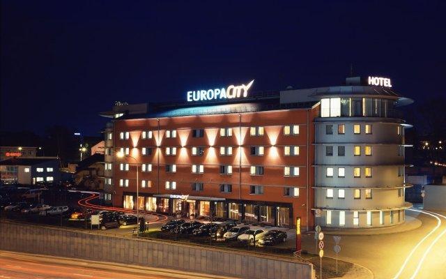 Hotel Art City Inn Вильнюс вид на фасад