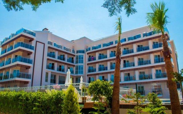 Sun Beach Hotel вид на фасад
