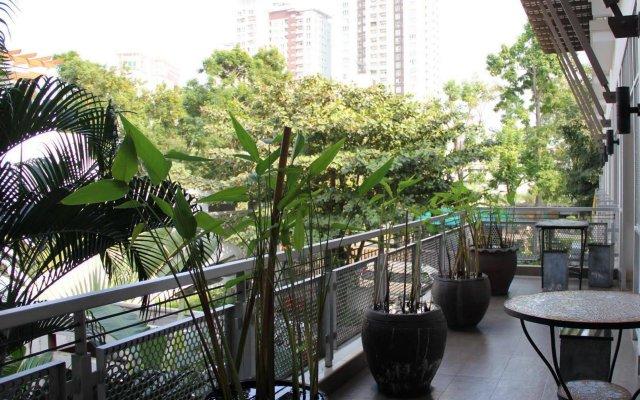 Отель Baan Rangnam Таиланд, Бангкок - отзывы, цены и фото номеров - забронировать отель Baan Rangnam онлайн балкон