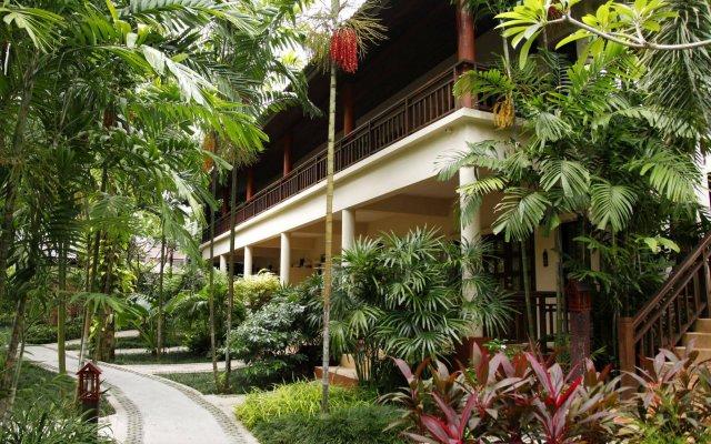 Отель Baan Chaweng Beach Resort & Spa вид на фасад