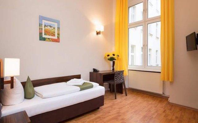 Отель ABENDSTERN Берлин комната для гостей